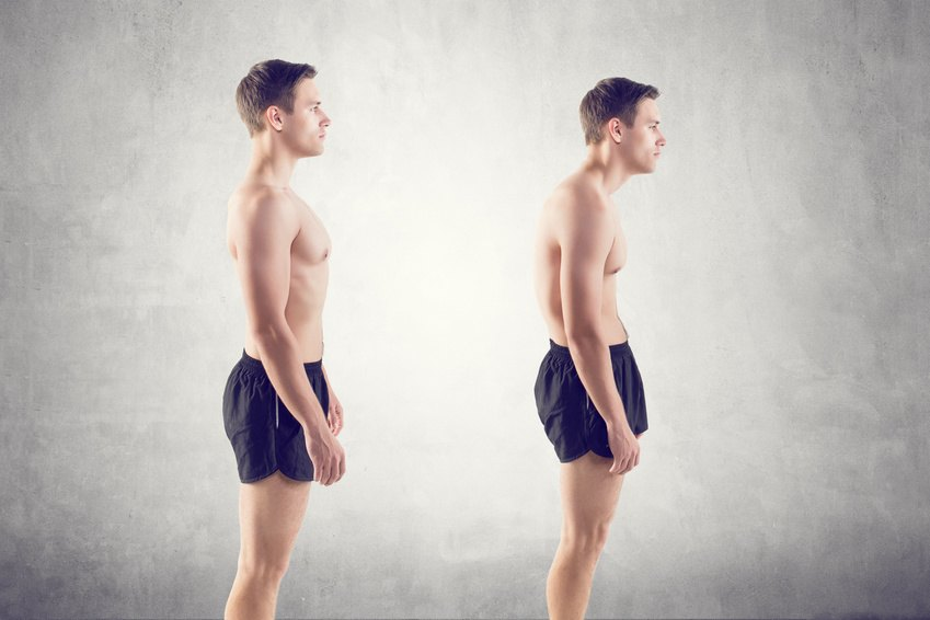Körperhaltung verbessern
