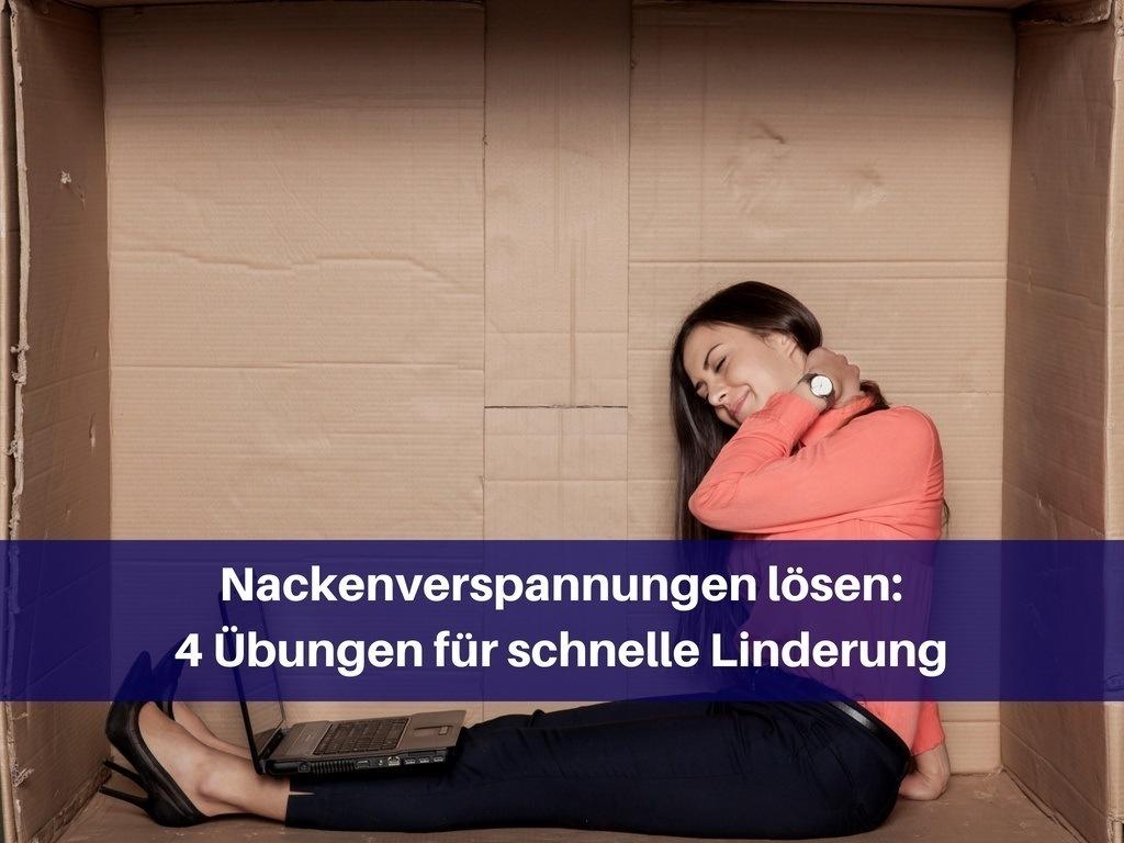 Nackenverspannung lösen