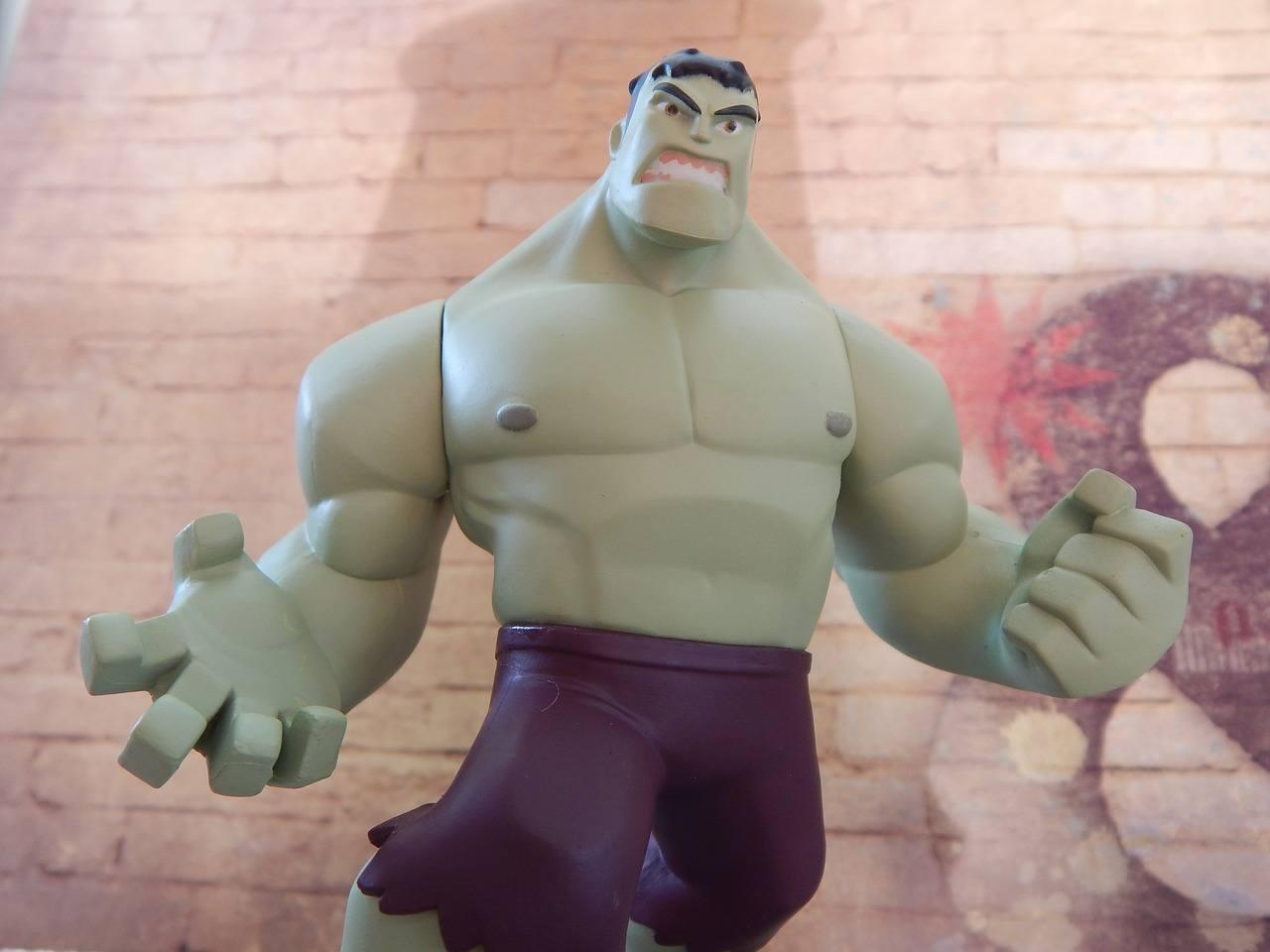 Muskelkater für Muskelaufbau - nicht bei Hulk