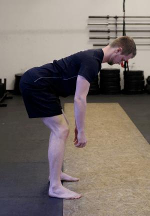 Hüftbeugung mit neutralem Rücken