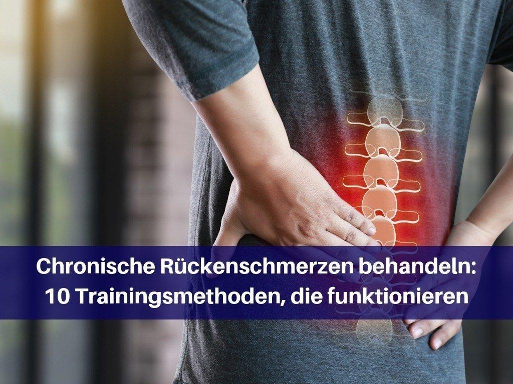 chronische Rückenschmerzen behandeln