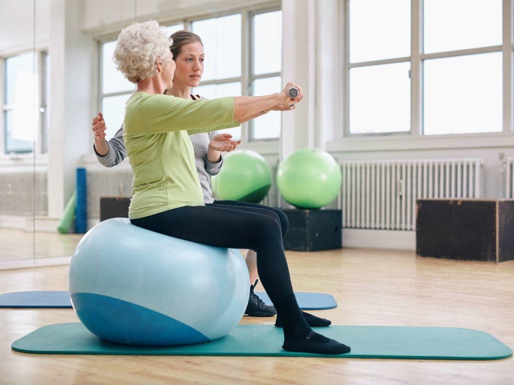 Reha-Kurse bei Osteoporose