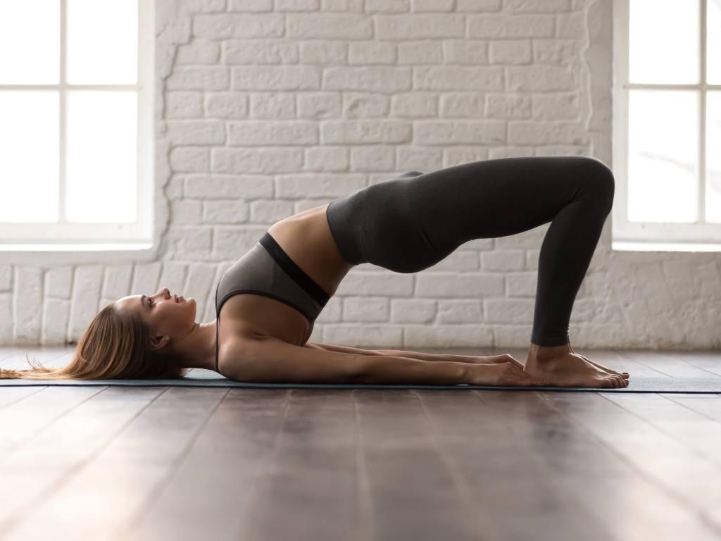 Übungen für ein stabiles Becken