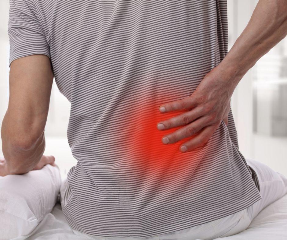 Rückenschmerzen beim Liegen