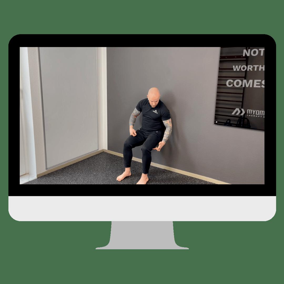 Übung Wall Sit