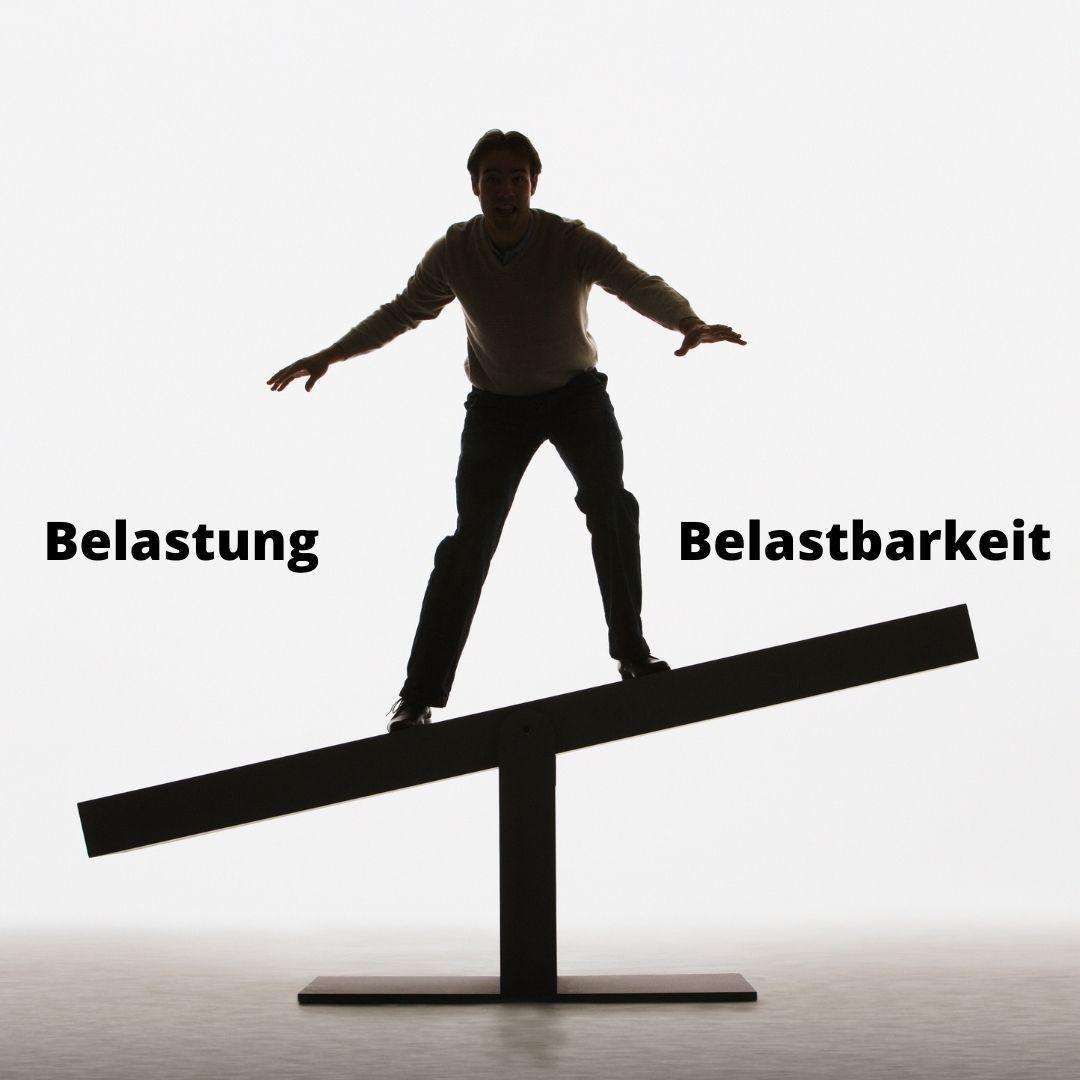 Belastung vs. Belastbarkeit